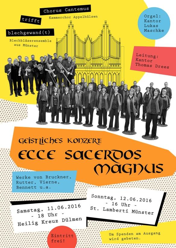 Plakat Chor+Blech - Juni16