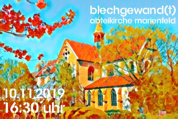 Plakat_blechgewandt_2019_Marienfeld